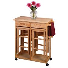 Kitchen Carts On Wheels by Wooden Kitchen Island Cart Modern Kitchen Island Design Ideas On
