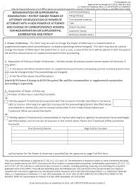 Durable Power Of Attorney For California by 2222 Address Of Patent Owner