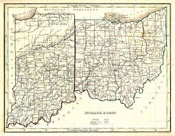 Oldest Map Of North America by The Usgenweb Archives Digital Map Library Ohio State Maps