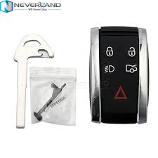 type of battery for lexus key fob for jaguar x xf xk xkr new remote smart prox key fob shell case