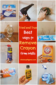 Bedroom Wall Gets Wet 7 Methods That Actually Work To Remove Crayon From Walls