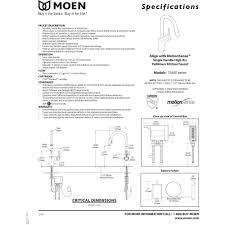 moen 7565esrs align spot resist stainless pullout spray kitchen