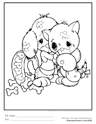 christmas puppy coloring pages beautiful 78