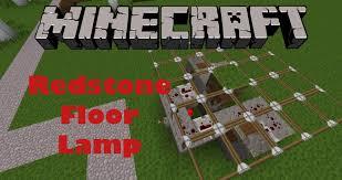 minecraft easy to make redstone hidden floor lights youtube idolza