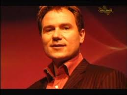 Richard Arnold looking set to kill you all over the show's introductory sequence. - Richardarnold