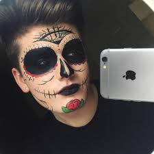 Skeleton Makeup For Halloween by Halloween Makeup Men Halloween Makeup Beautiful Makeup Ideas