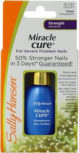 amazon com sally hansen miracle cure for severe problem nails