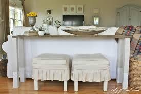 Wood Sofa Designs 2015 The Easiest Diy Reclaimed Wood Sofa Table City Farmhouse
