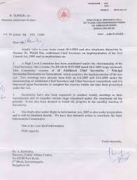 How To Write A Legal Letter Of Demand by State Level Rti Karnataka