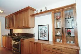 Kitchen Cabinet Glass Kitchen Range Hood Exhaust Duct Light Backsplash With Dark