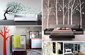 wall murals decals sports themed interiors tree wall decals add style sophistication to your home