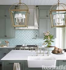 blue glass tile backsplash kitchen design blue glass tiles for