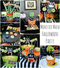 Themed Halloween Party Ideas by Halloween Monster Mash Party Creative Juice