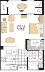 One Room Apartment Floor Plans Home Design 2 Bedroom Apartment Floor Plans Ideas With 89