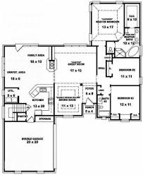 Small 3 Bedroom House Floor Plans by Beautiful House Floor Plans 4 Bedroom 2 Bath 654269 35 Traditional
