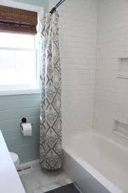 white glass subway tile bathrooms and tiles idolza