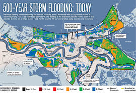 Ninth Ward New Orleans Map by Upgraded Metro New Orleans Levees Will Greatly Reduce Flooding