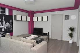 White Home Interiors Apartment Enchanting Living Room With Parquet Flooring Small Home