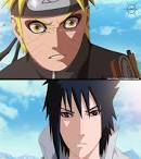 imagenes de naruto - _Naruto_and_Sasuke__by_JManuelC