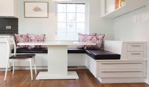 L Shaped Bench Kitchen Table by Good Looking Small Dining Room Decoration Using Round Pedestal