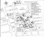 Downtown Campus Map 1957 | RIT Archive Collections library.rit.edu