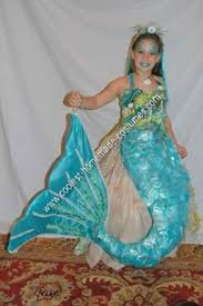 Girls Unique Halloween Costumes Coolest Homemade Mermaid Rock Unique Halloween Costume Idea