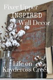 Fixer Upper Living Room Wall Decor Fixer Upper Inspired Metal Wall Decor Life On Kaydeross Creek