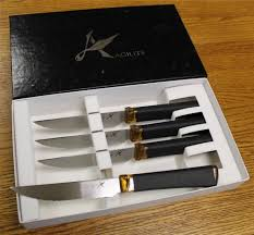 Ontario Kitchen Knives New Ontario Agilite 4 Piece Serrated Steak Knife Cutlery Set