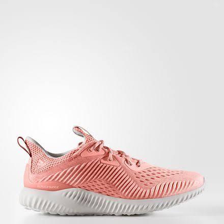 adidas Alphabounce EM Running Shoes Pink- Womens