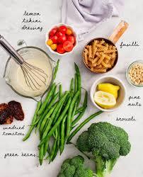 Pasta Salad Ingredients Broccoli Tahini Pasta Salad Recipe Love And Lemons