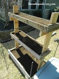 diy gardening box pallets box and diy garden box