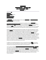 Cover Letter For Library Job by Open Cover Letters Anonymous Cover Letters From Hired Librarians