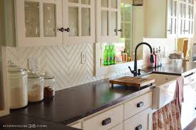 Glass Subway Tile Backsplash Kitchen Kitchen Kitchen Backdrops Houzz Home Design Kitchen Tiles Cheap