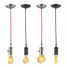 Black Pendant Light by Amazon Com Globe Electric 1 Light Vintage Edison Mini Pendant