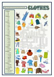 Halloween Quiz Printable by 714 Free Esl Clothes Worksheets