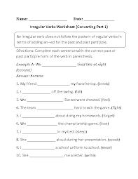 Verbs Worksheets   Irregular Verbs Worksheets Englishlinx com Irregular Verbs Worksheet