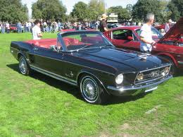1967 Ford Mustang Black File Ford Mustang Gta Convertible 1967 Jpg Wikimedia Commons