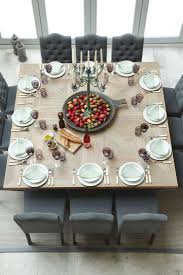 Dining Room Table Pictures Modern Rustic Thanksgiving Table Settings 10 Great Ideas