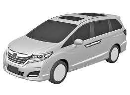 fifth gen 2017 honda odyssey revealed in patent images