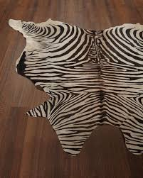Cow Print Rugs Animal Rugs Cowhide U0026 Zebra Rugs At Neiman Marcus Horchow