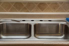 Removing An Old Kitchen Faucet by Moen Brantford Kitchen Faucet Installation And Review Postcards