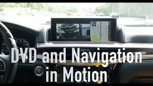 app para lexus 2016 2017 lexus lx570 dvd and navigation in motion demonstration