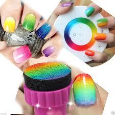 aliexpress com buy nail art sponge stamping manicure for gel
