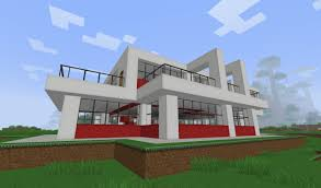 Small Modern Houses by Small Modern House In Minecraft Projects To Try Pinterest