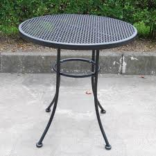 Cast Iron Patio Set Table Chairs Garden Furniture - mainstays wrought iron 3 piece outdoor bistro set seats 2