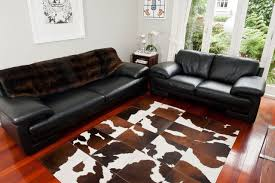 Cow Print Rugs Brown And White Rugs Roselawnlutheran