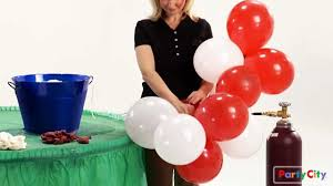 how to make a balloon arch for your party youtube