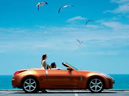 nissan 350z curb weight nissan 350z roadster sunset orange seagulls 1280x960 wallpaper