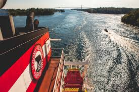 Sara Fox  New York Times The Algoma Equinox passes the     mile Thousand Islands Bridge on the Saint Lawrence River