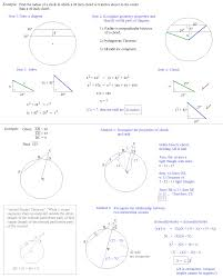 math plane circles and geometry